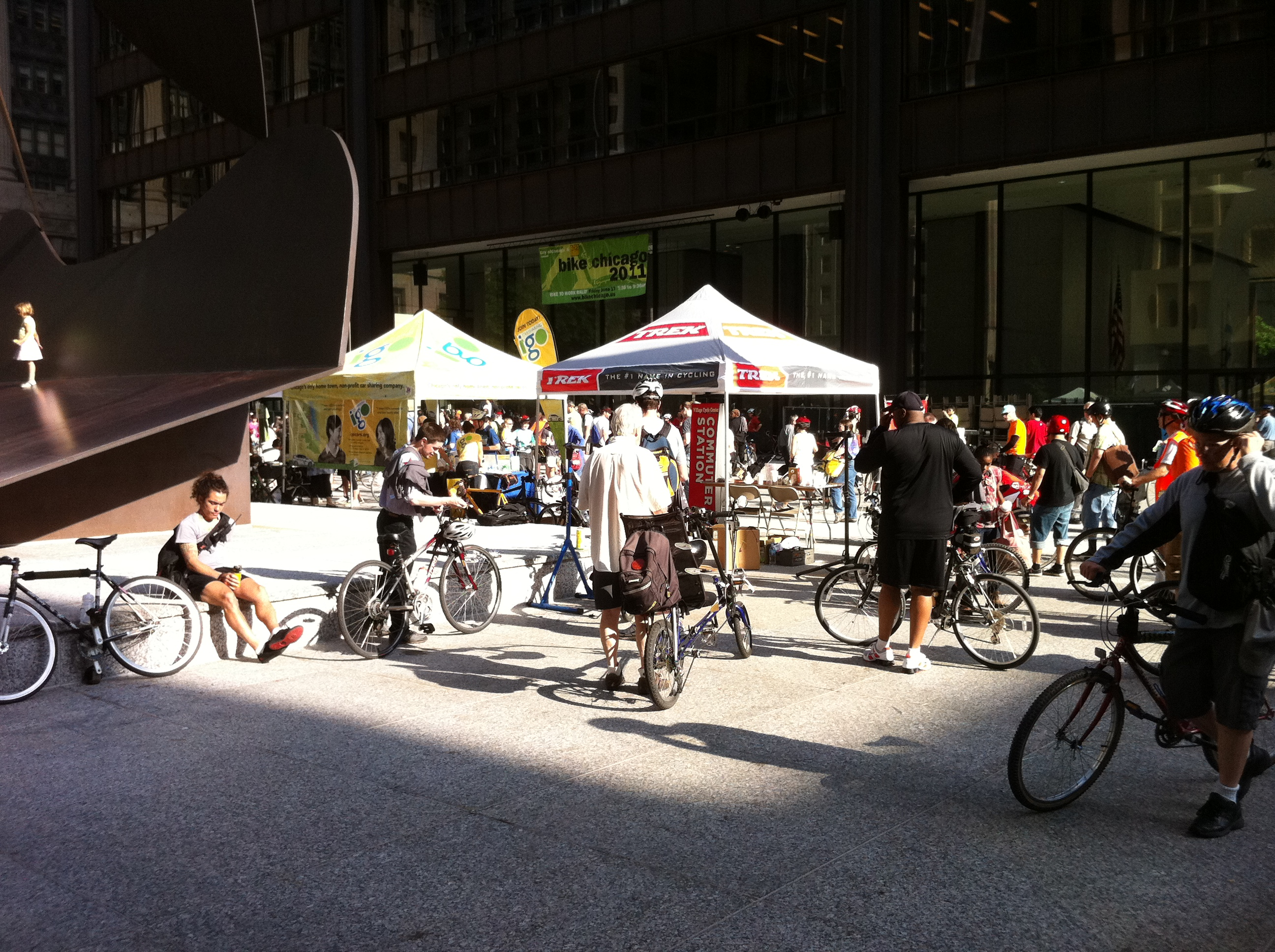 Bike to Work Rally