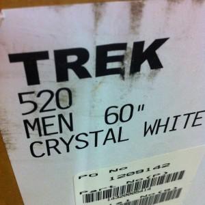2014 Trek 520 box