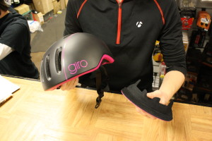 Giro Reverb Helmet on the holiday gift guide for cyclists