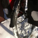 Bontrager NCX Fenders as part of my winter bike