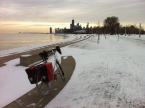 Winter biking tips - Trek 520 Winter Ride