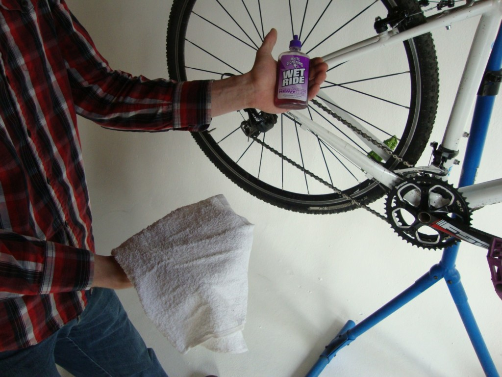 White Lighting Wet Ride. The best lube for extreme conditions.
