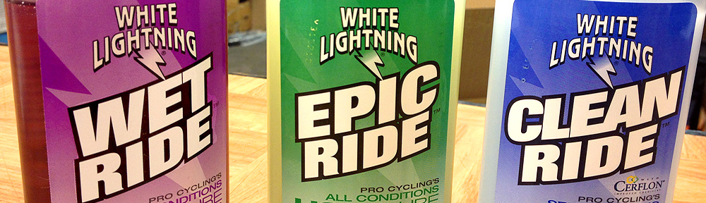 White Lightning Bicycle Chain Lubes