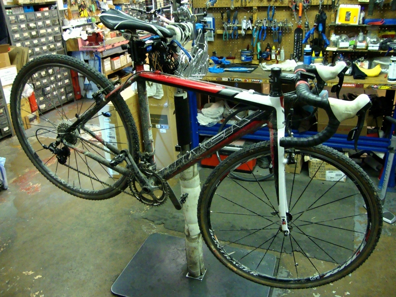 spring bike tune-up
