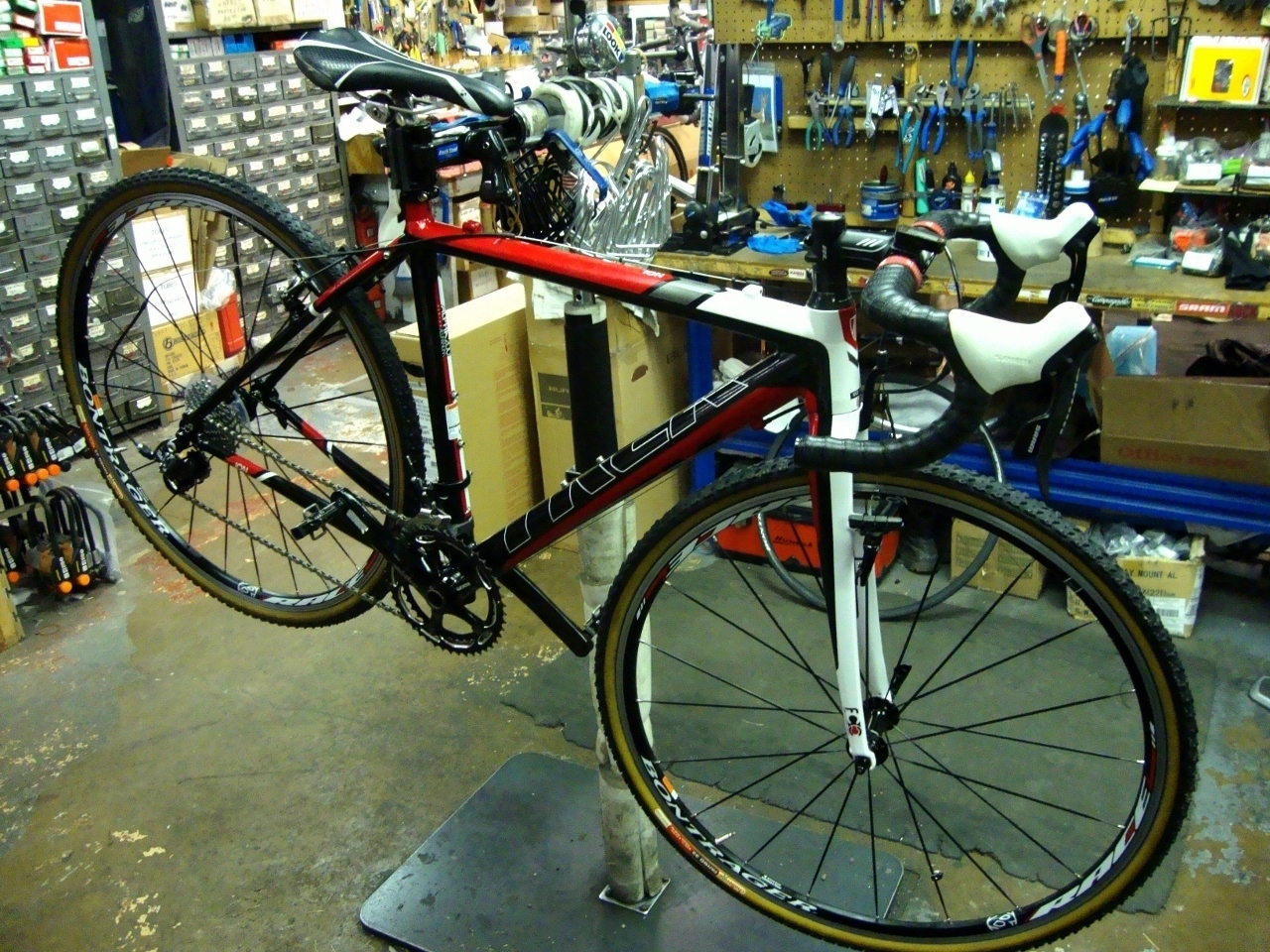annual bicycle tune-up makes trek bikes like new.