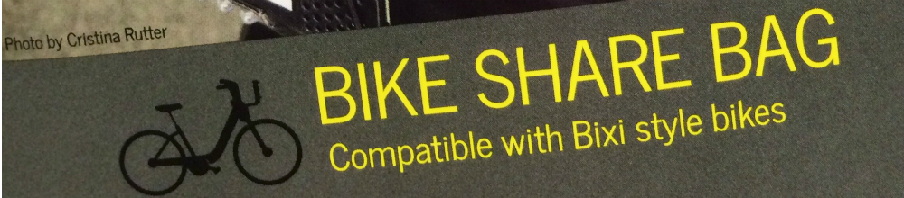 Bike Share Bag