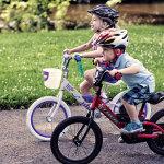 2 kids riding on Trek Jet and Trek Mystic bikes