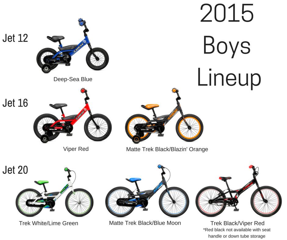Bikes Kids Sizes trek kids bikes boys