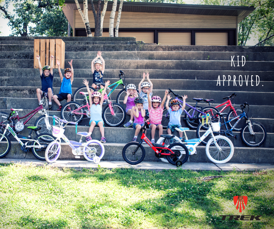 trek kids bikes are kid approved