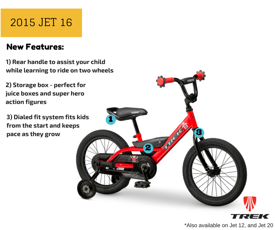 trek kids bikes - 2015 trek jet 16