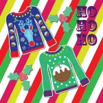 village cycle center ugly christmas sweater contest