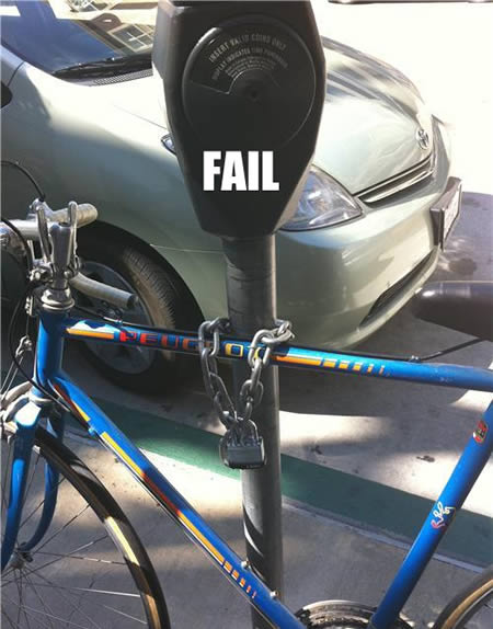 bike lock fail