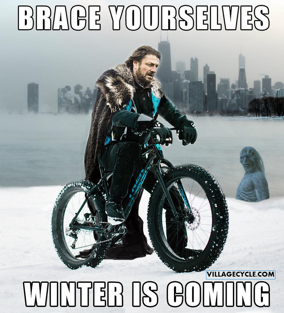 winter biking tips