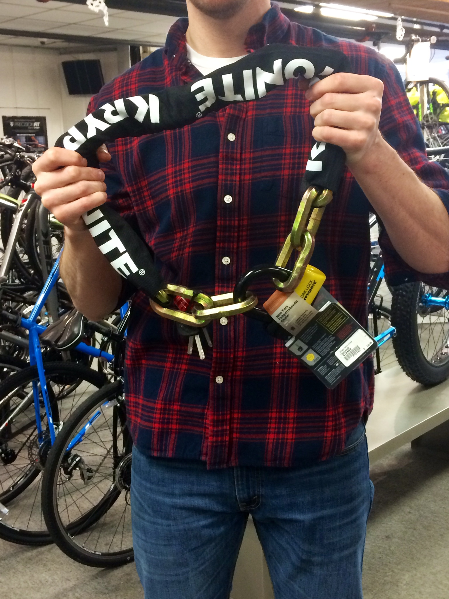 chain bike lock
