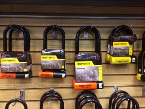 bike locks - u-locks