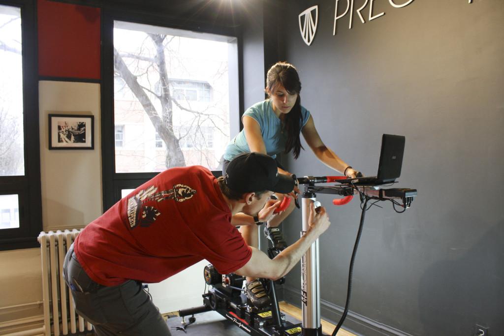Trek Precision Fit bike adjustments at Village Cycle Center