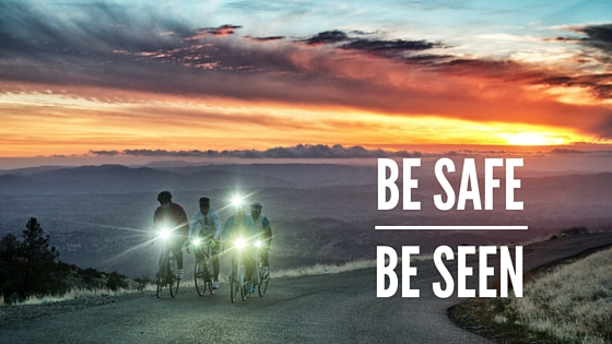 Bike lights are important for safety and to be seen by others.