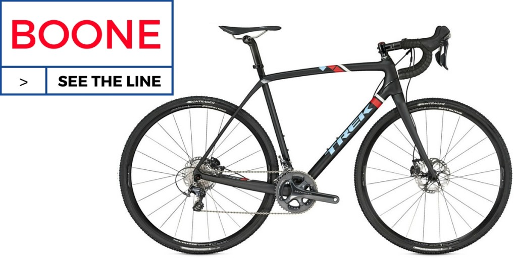 TREK BOONE 9 DISC CYCLOCROSS BIKE