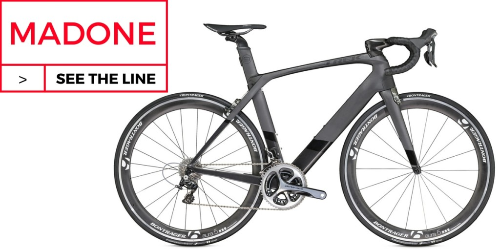 TREK MADONE 9.5 AERODYNAMIC ROAD BIKE