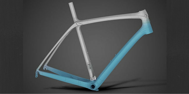 Frame with isospeed decoupler