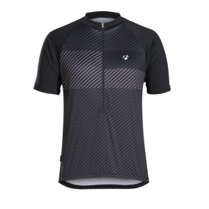 solstice cycling jersey black